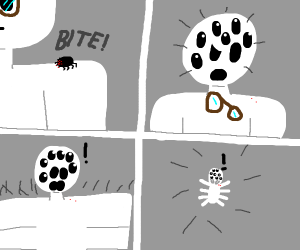Oh no! I'm a spider now!