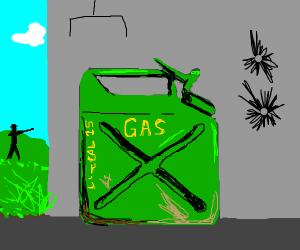 WW2 gas can