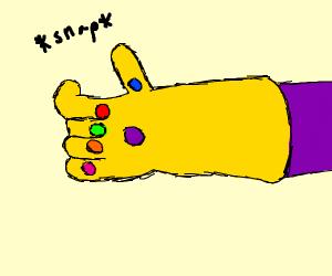 Thanos fingersnap