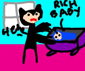 catwoman babynaps rich babies