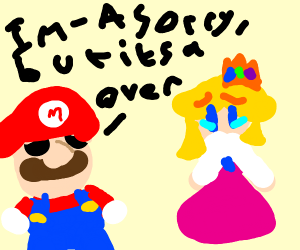 Mario breaks up with Peach