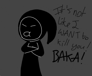 Tsundere Grim Reaper