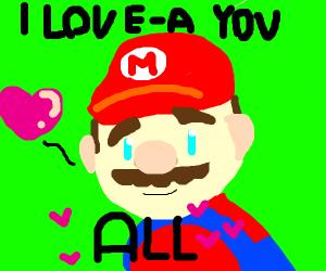 Wholesome Mario