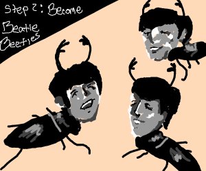 Step 1: Become a Beatle