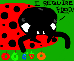 The story of the hungry ladybird (notCatrpilr