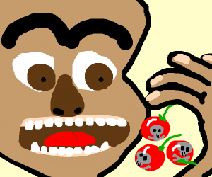 dude just wants to eat some cursed berries