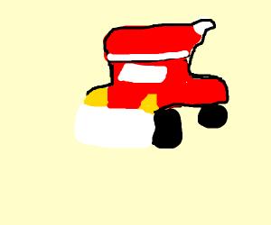 Santa car Santa car