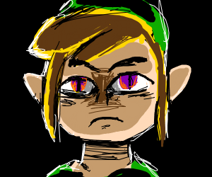 toon link but... something's off