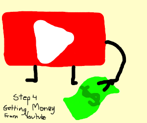 getting money from youtube, this one step 4