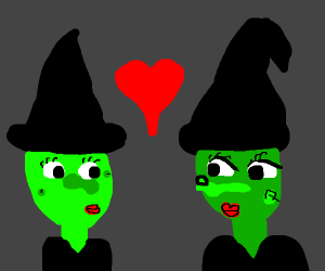 2 witches in love