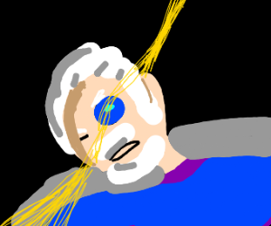 One eyed blind man