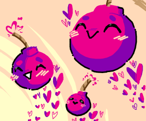 blushing bombs