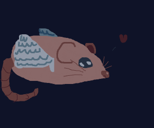 A literal flying rat