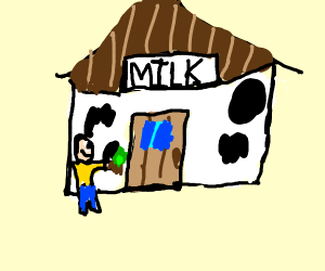going to buy some milk