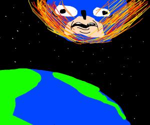 Sanic meteor heading straight towards Earth