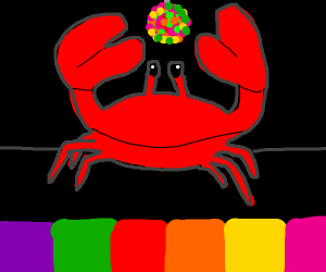 Crab rave but at a disco
