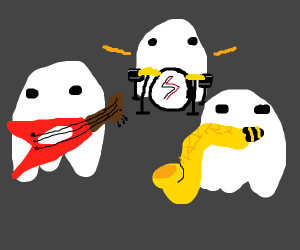 rock band of ghosts