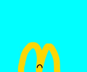 Sad McDonald's m