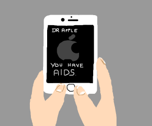 Dr. Apple diagnoses you with aids