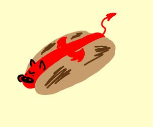 Devil hotdog