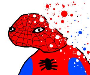 Spooderman doesn't feel so good