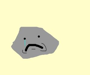 Rock feels very alone
