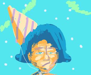 Sad girls birthday