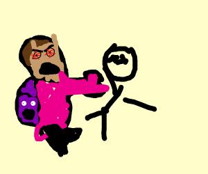 dora beating up deigo