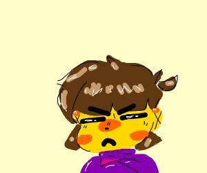 Frisk is upset