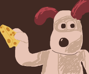 Gromit found the cheese...