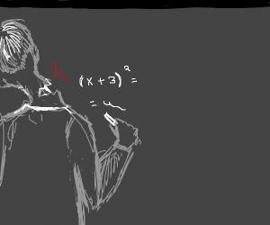 dude doing equation has neck broken