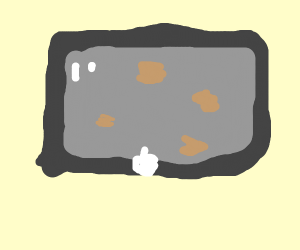 Oily iPod