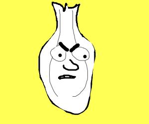 very angry onion