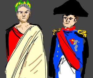 Caesar and Napoleon