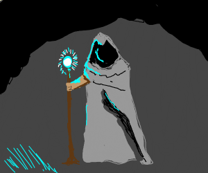 Cloaked Wizard
