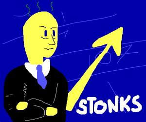stonks meme is stinky