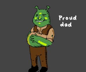 Shrek is pregnant