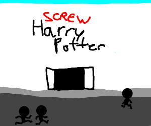 The annual screw Harry Potter Con