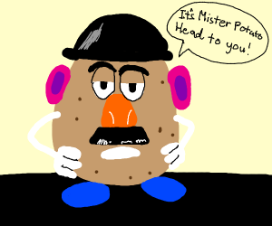 Potato man from Toy Story