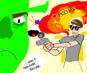 Shrek + Meme of you choice start a riot