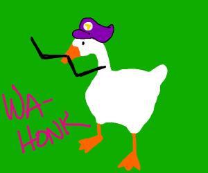 waluigi untilted goose