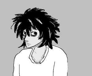 Emo anime character