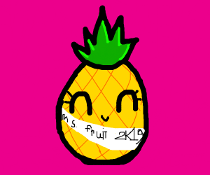 pineapple is Miss Fruit 2019
