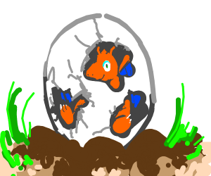 Dragon egg hatching