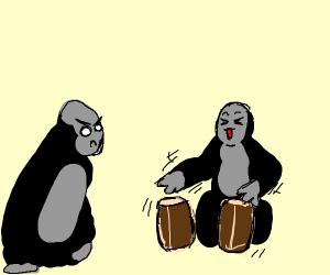 Harambe is mad at musical harambe