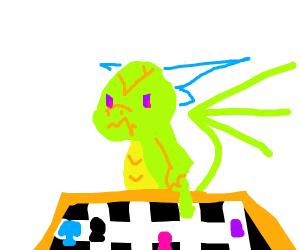 Dragon played chess