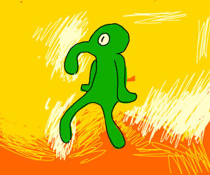 "i call it ""bold and brash"""