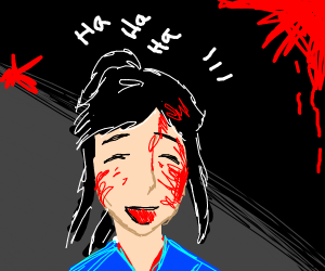 Laughing Yandere