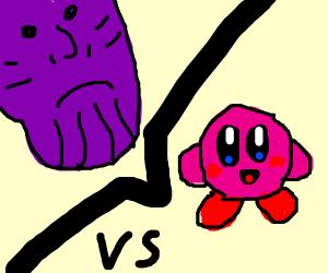 Thanos Vs Kirby