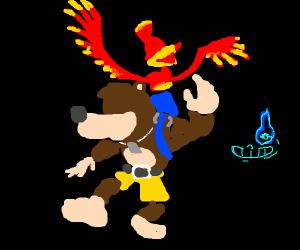 Banjo and KAZOOIE!!! (and Sans)
